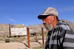 Bewohner von Rhyolite Ghost Town, Nevada
