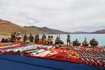 Souvenirstand am Yamdrok Tso, Tibet