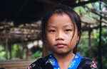 Hmong-Mädchen, Laos
