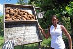 Straßenverkäuferin, Dominikanische Republik