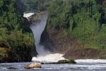 Murchison Falls, Victoria Nil, Murchison Falls Nationalpark, Uganda