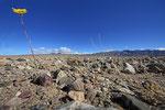 Landschaft im Death Valley nach einem Regen, Kalifornien