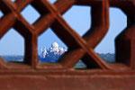 Taj Mahal vom Aghra Fort aus, Agra, Uttar Pradesh