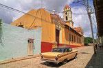 Trinidad, Glockenturm des Franziskanerklosters