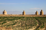 Taubentürme in der Nähe von Isfahan