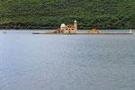 Bucht von Kotor, Klosterinsel Sv. Dorte, Montenegro