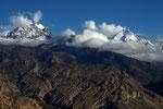 Berge der Mustang-Kette, Mustang