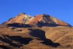 Vulkan Tunupa (5.432 m) vom Dorf Tahua aus, Bolivien