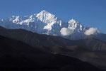 Nilgiri Nord (7.061 m) im Annapurna-Massiv, Mustang