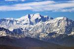 Annapurna (8.091 m) mit Nilgiri (7.061 m), Mustang