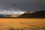 Landschaft am Karakul-See,  Pamir, Tadschikistan