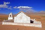 Dorfkirche Llocuoma, Nationalpark Volcan Isluga, Chile
