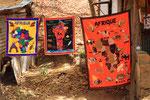 Souvenirstand, Tanougou, Benin