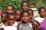 Aids-Waisen, Bwindi, Uganda