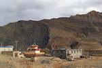 Dorfansicht bei Gyantse, Tibet