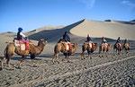 Wüste Gobi bei Dunhuang,  Provinz Gansu, VR Cina
