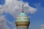Shiraz, Kuppel des Mausoleums Shah Cherag