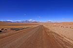 Piste im Lauca Nationalpark, Chile