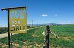 Landschaft bei Cortez, Colorado