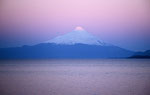 Llanquihue-See mit Vulkan Osorno, Chile