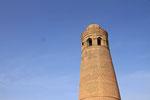 Minarett, Uzgen, Ferghana-Tal, Kirgistan