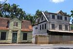 Historische Holzhäuser, Paramaribo, Surinam