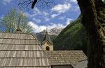 Kirche Heilige Maria Loreto, Trenta, Soca-Tal, Julische Alpen, Slowenien