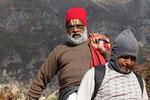 Pilger in Muktinath, Mustang