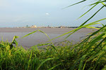 Kongo-Fluss mit Kinshasa, Demokratische Republik Kongo