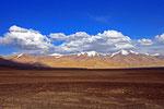Landschaft nördlich Karakul-See, Pamir, Tadschikistan