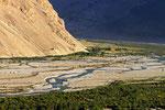 Zusammenfluss Pamir-Fluss mit Wakhan-Fluss zum Panj, Afghanistan