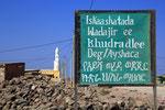 Dorf im Afar-Dreieck, Äthiopien