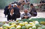 Sonntagsmarkt, Kashgar, Provinz Xinjiang, VR China
