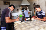Fladenbrotbäckerei, Istarafshan, Tadschikistan