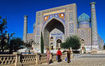 Registan-Platz, Samarkand, Usbekistan