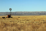 Farmlandschaft in West-Texas