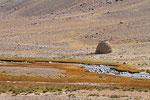 Alte  Karawanserei am Pamir-Fluss, Afghanistan