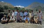 Hunza-Bauern in Gulmit, Pakistan