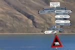 Wegweiser, Longyearbyen