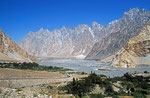 Hunza-Tal bei Passu, Pakistan