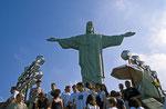 Christus-Statue, Corcovado, Rio de Janeiro, Brasilien