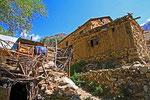 Dorf im Shing-Tal, Fan-Gebirge, Tadschikistan