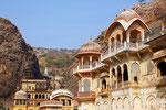 Galta Ji (Affentempel), Jaipur, Rajasthan
