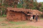 Hütten bei Bertoua, Republik Kamerun