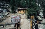 """""""Hotel"""" in Tato, Rakhiot-Tal am Fuße des Nanga Parbat, Pakistan"""