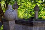 Türkische Grabsteine, Koski Mehmed Pascha Moschee, Mostar, Bosnien-Herzegovina