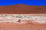 Geysirfeld Sol de Manana (4.800 m), Bolivien