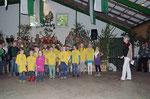 Unsere kleinen aus dem Dorf haben das Fest mitgestaltet.Danke!