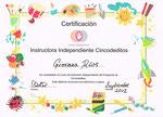 Certificación como Instructora en Lenguaje de Señas para Bebés