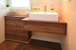 Badmöbel mit Holzimitat
